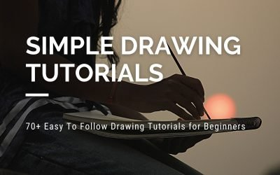 70+ Easy To Follow Drawing Tutorials for Beginners