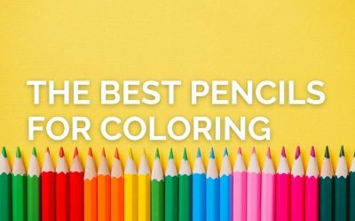 The Best Pencils for Coloring Books for Adults