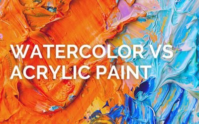 Watercolor VS Acrylic: What's the Difference and Which is Better?