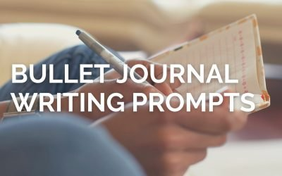 60+ Bullet Journal Writing Prompts For You To Try