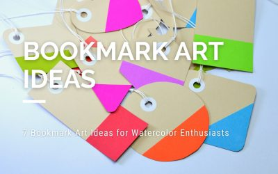 7 Simple Bookmark Art Ideas for Watercolor Enthusiasts