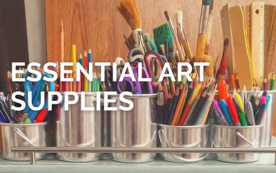10 Essential Art Supplies for Every Artist in the Making